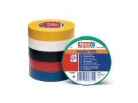 PVC-Isolierband tesa 4252 15mm - 10m - schwarz