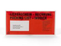 """Dokumententasche DIN-lang """"Lieferschein-Rechnung"""""""