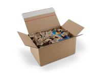 Postkarton Topbox 590 x 390 x 400 - 265 mm, 2-wellig