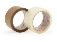 PP-Packband topband BASIC (leise,25my,50 mm) transparent
