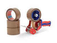 PP-Packband tesa 4024 + tesa Handabroller COMFORT