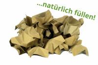 DECOFILL Füllmaterial aus Papier 120 Liter | natur