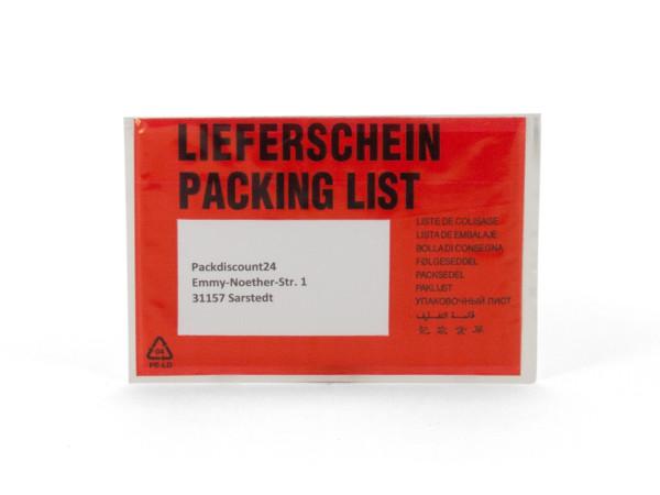 """Dokumententasche DIN-C6 """"Lieferschein"""""""