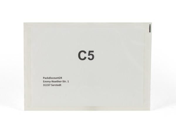 """Dokumententasche DIN C5 """"neutral ohne Beschriftung"""""""
