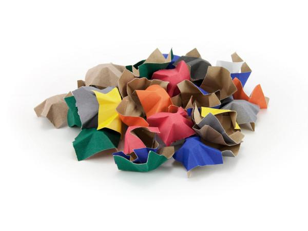 Farbiges Füllmaterial aus Papier