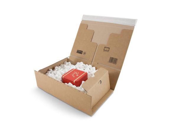 Post-Versandverpackung, braun